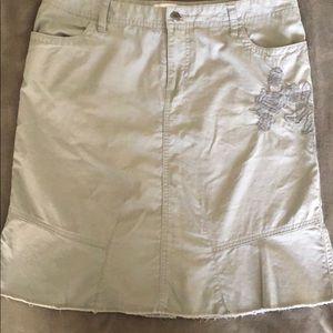 White House Black Market Casual Skirt